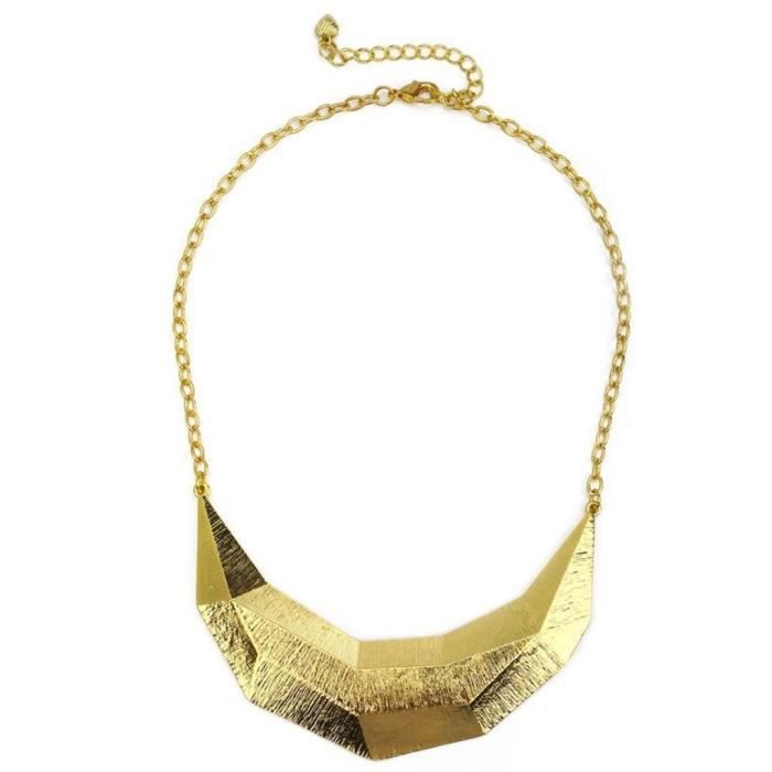 Womens Gold Metal Necklace ForV54X7