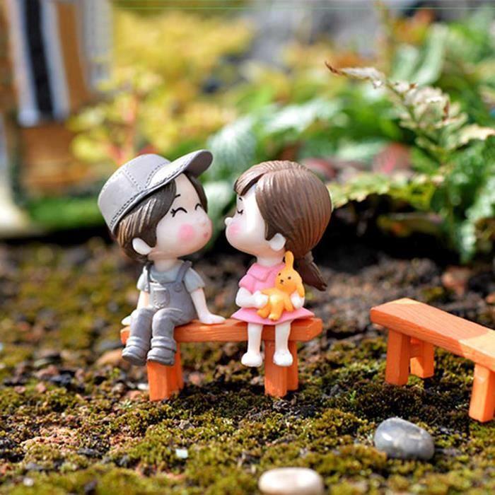 Deco pour jardin miniature - Achat / Vente pas cher