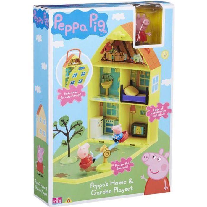 la maison de peppa achat vente jeux et jouets pas chers. Black Bedroom Furniture Sets. Home Design Ideas