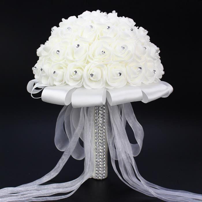 Le Mariage Bouquet De Mariee Blanches Fleurs Des Bouquets De Roses