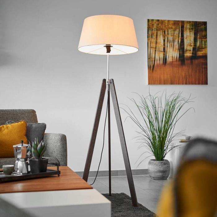 LAMPADAIRE Lampenwelt lampadaire trépied pour salon et salle