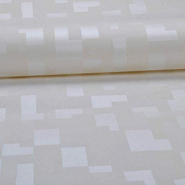 Papier Peint En Relief 3D Mosaïque Carreaux De Mur Blanc 5.3m2