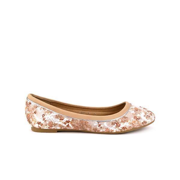 Ballerines Beige Chaussures Femm… gY78UD2T