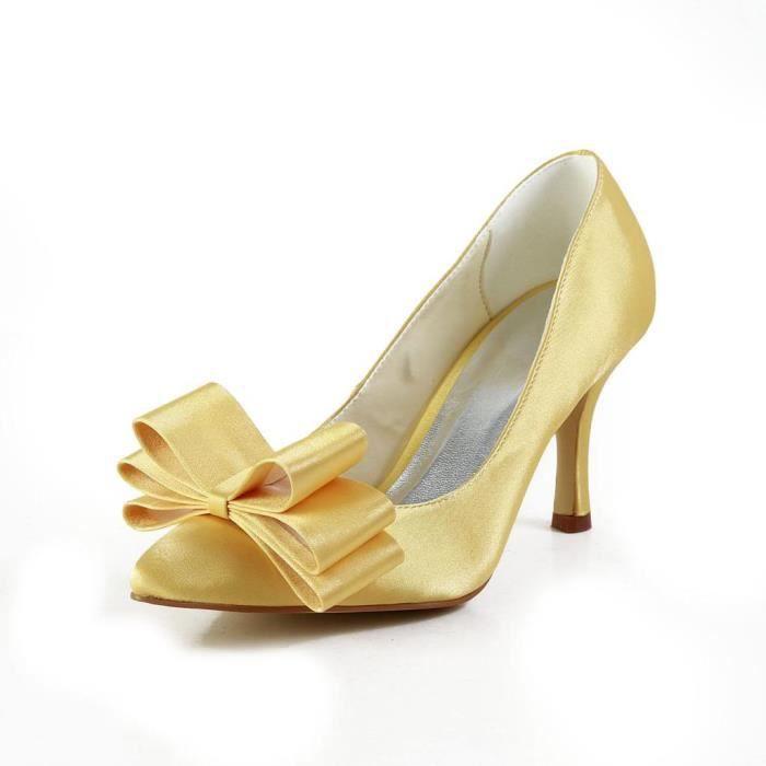 Jia Jia Wedding A3112 chaussures de mariée mariage Escarpins pour femme TBWWSQSwOX