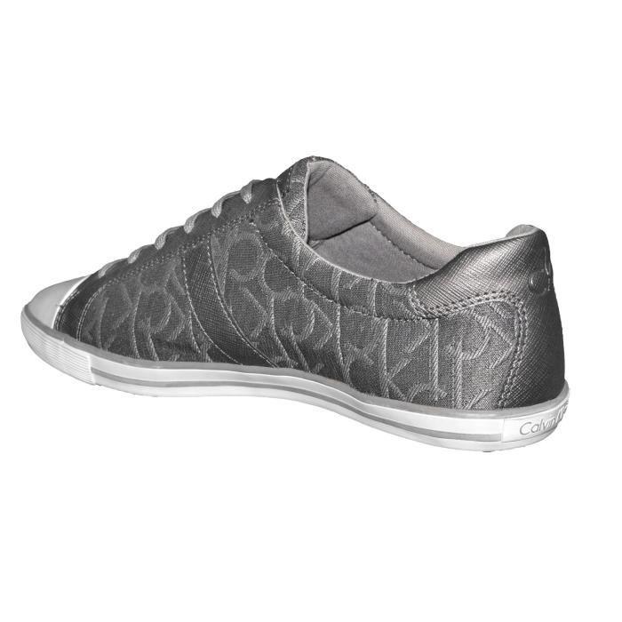 Calvin Klein - Basket Derbie - Femme - Becca N11430 - Pewter Gris Anthracite