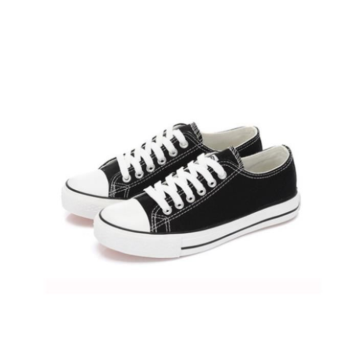 Basket Femme Chaussures plates - Chaussures de toile - Casual Chaussures