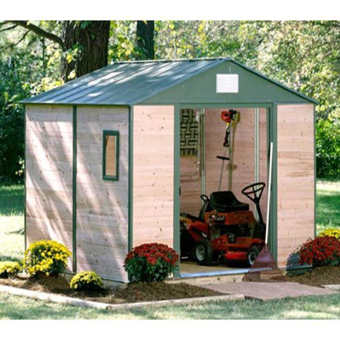 Abri De Jardin Bois 6m2. Perfect Abri De Jardin Bois Malaga Mm X ...