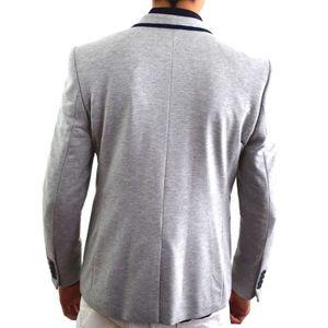 Veste homme avec coudiere achat vente veste homme avec coudiere pas cher cdiscount - Costume homme gris clair ...