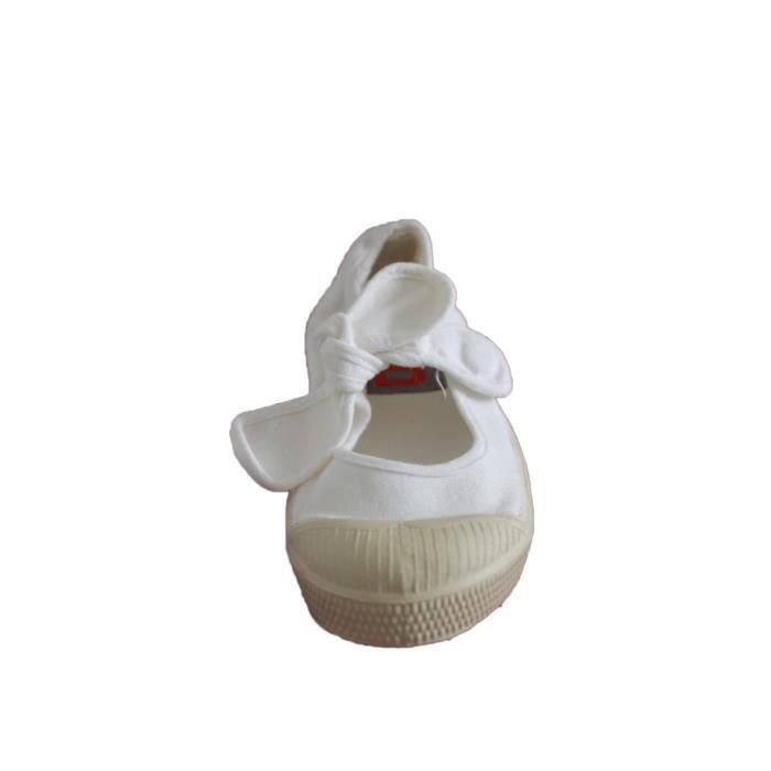 ballerine bensimon flo blanche