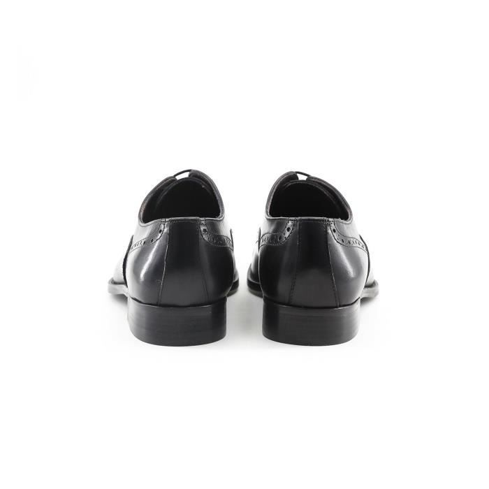 Made Umberto Chaussures Noir cuir in 42 Italia P richelieu ArH1aSAwq