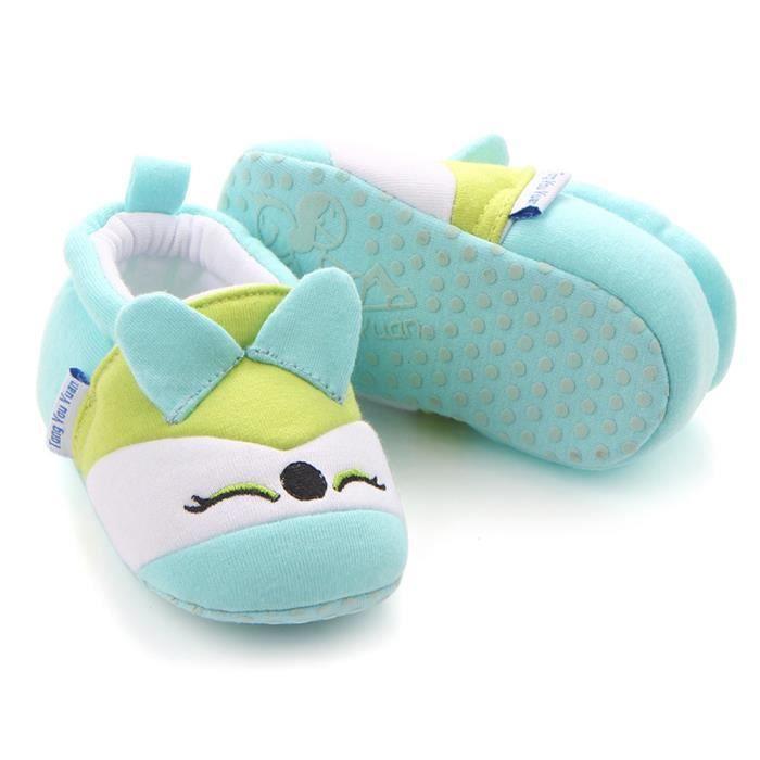 BOTTE Mignon Garçon Fille Bébé Doux Chaussures Fring Doux Soled Non-Slip Chaussures Crèche Chaussures@VertHM