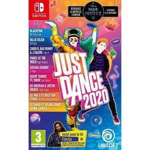 SORTIE JEU NINTENDO SWITCH Just Dance 2020 Jeu Switch
