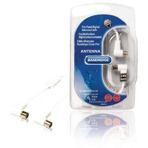 ANTENNE RATEAU Câble d'antenne Numérique Écran Plat 120dB 10.0 m