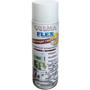 ÉTANCHÉITÉ FONDATION Spray colmateur bitumeux d'étanchéité toiture blan