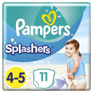 COUCHE Pampers - Splashers Couches-culottes de Bain Jetab