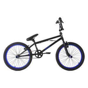 VÉLO BMX BMX Freestyle 20'' Yakuza noir-bleu KS Cycling