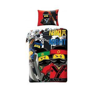 HOUSSE DE COUETTE ET TAIES Lego Ninjago By Night - Parure de Lit Enfant - Hou