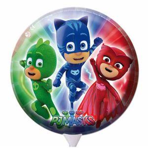 BALLON DÉCORATIF  LES PYJAMASQUES - Grand ballon métallisé gonflable