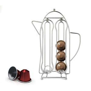 DISTRIBUTEUR CAPSULES 365977 Porte-capsules café avec forme théière pour