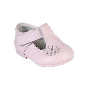 BABIES Babies en cuir - bébé fille - rose