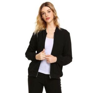 91a00b54ed7c MANTEAU - CABAN manteau à manches longues Femmes Fermeture à gliss ...