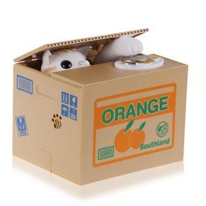 TIRELIRE Automatisé Itazura tirelire chat voler boîte d'éco