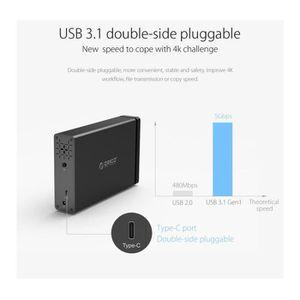 DISQUE DUR EXTERNE ORICO NS100-U3 1 baie USB 3.0 Type-B vers SATA Dis