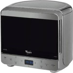 MICRO-ONDES Whirlpool MAX 38 IX, 13 L, 700 W, boutons, Argent,