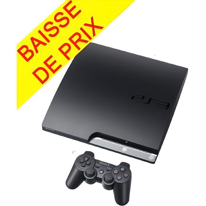 CONSOLE PS3 Console PS3 320 Go Noire / console PS3.