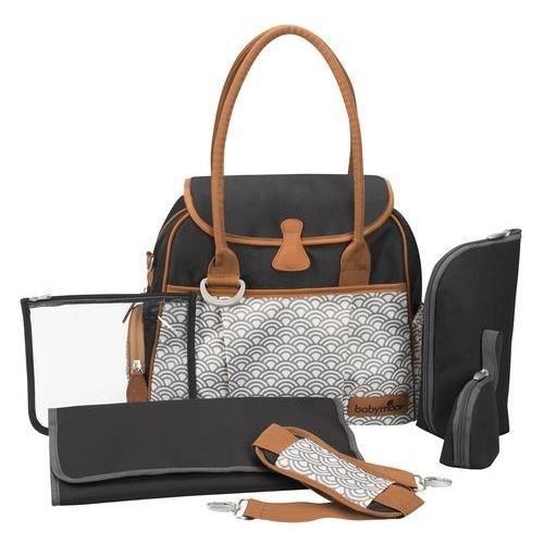 BABYMOOV Sac à Langer Style Bag Black