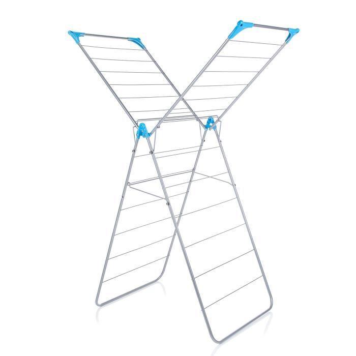 MINKY Séchoir à linge wing 14 m