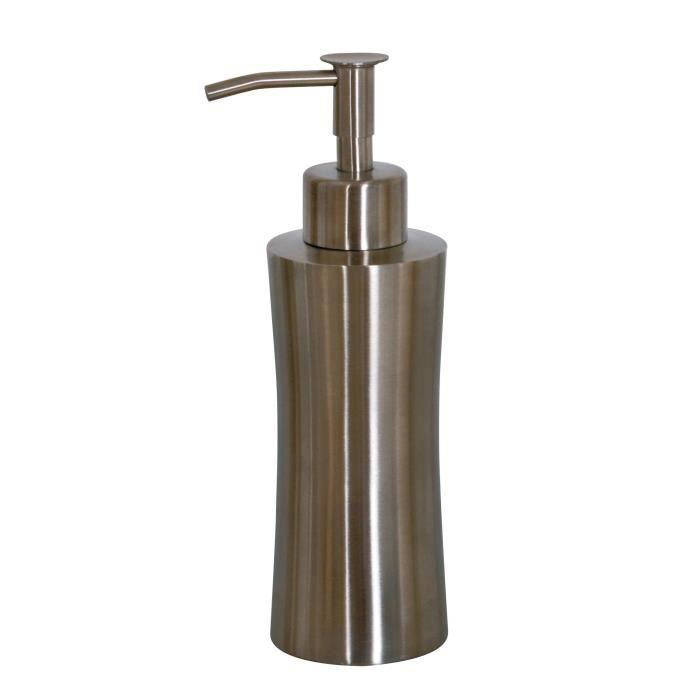 NEW YORK Distributeur de savon - 18x6,5x6,5 cm - Chromé