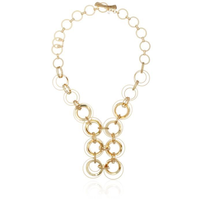 Primal Connection Multi-circle Link Statement Necklace, 21 TC80F