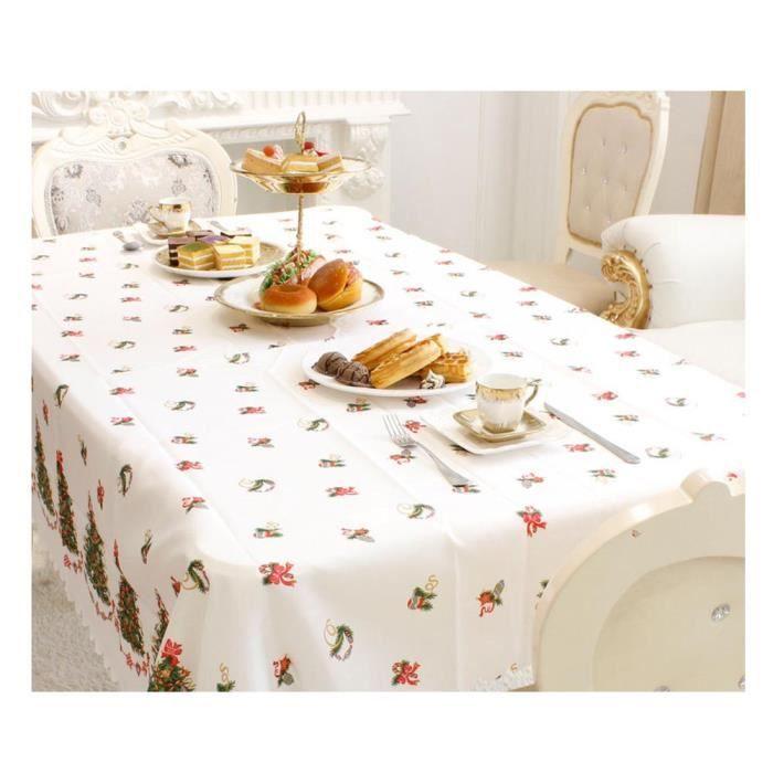 tissus noel pour nappe achat vente tissus noel pour nappe pas cher cdiscount. Black Bedroom Furniture Sets. Home Design Ideas
