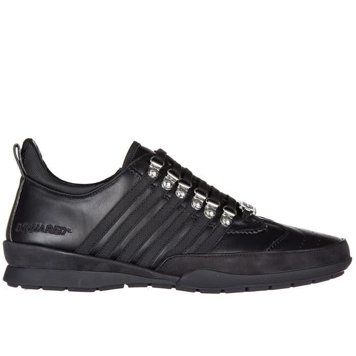 Chaussures baskets sneakers homme en cuir 251 vitello Dsquared2