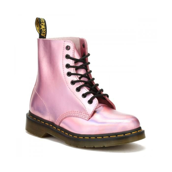 e21d13159676 Boots Dr Martens Pascal Iced Metallic - 23551690 Rose Rose - Achat ...