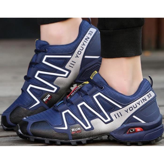 Chaussures d'extérieur chaussant des - chaussures de randonnée antidérapantes étanches