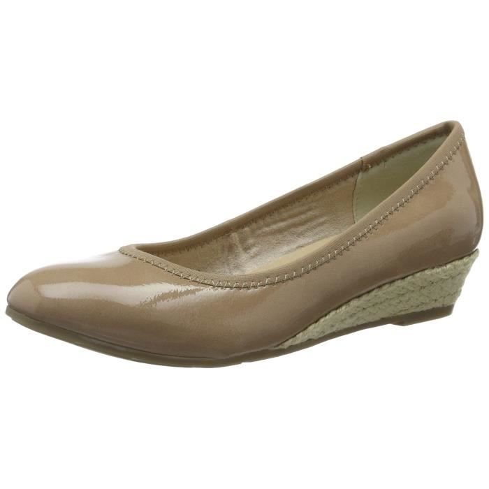 7be8f3a27eecf Marco Tozzi 22200 Chaussures de plate-forme Taille-38 Beige Beige ...