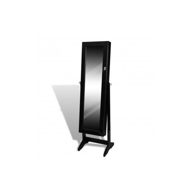 armoire a bijoux noire achat vente pas cher. Black Bedroom Furniture Sets. Home Design Ideas