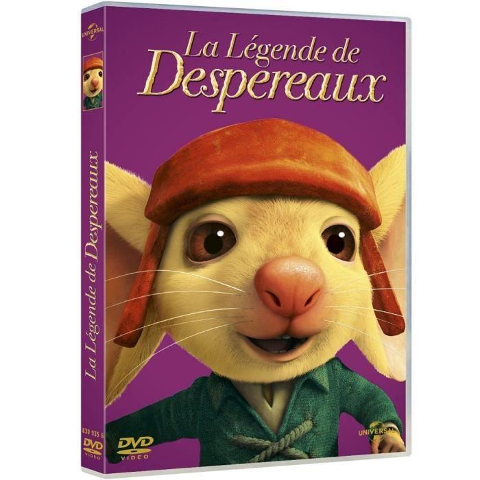 DVD DESSIN ANIMÉ La légende de Despereaux DVD
