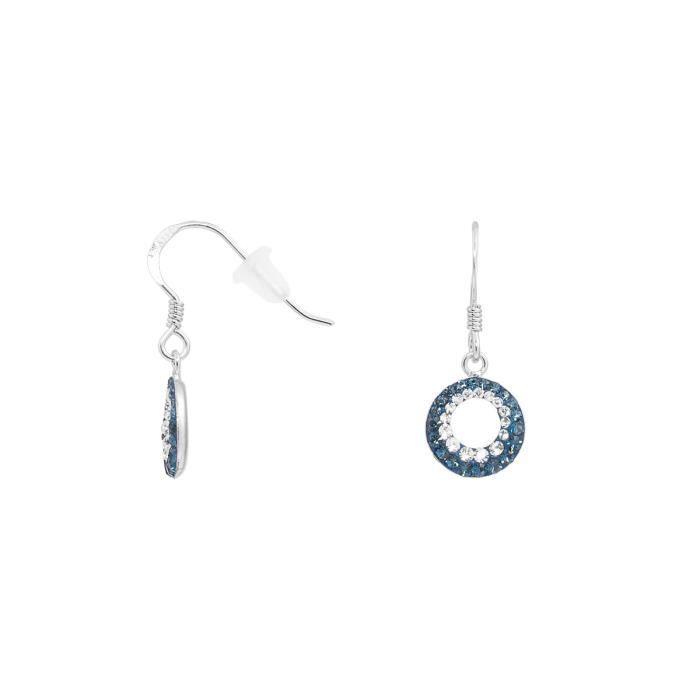 Boucles oreilles CLEOR Argent 925-1000 Cristal