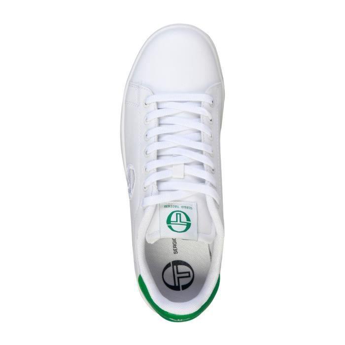 Tacchini Sergio homme Baskets Tacchini Sergio Grantorino Blanc sneakers CRdnCrO