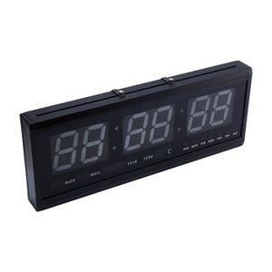 Horloge murale numerique achat vente horloge murale numerique pas cher cdiscount for Horloge led murale