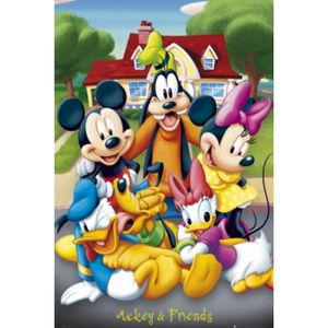 AFFICHE - POSTER Walt Disney Poster - Mickey & Ses Amis (91 x 61 cm