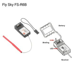 DRONE Fly Sky FS-R6B 2.4G 6 Channel Receiver For RC Car