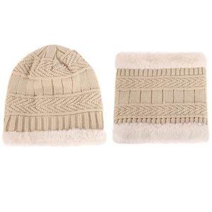 ECHARPE - FOULARD Enfants Crochet Hat fourrure de laine tricot Bonne c6c25579439