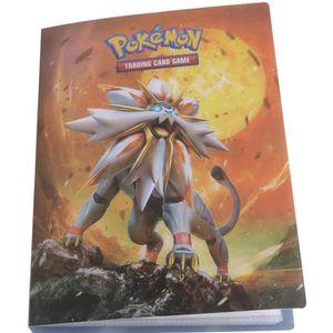 CARTE A COLLECTIONNER POKEMON Cahier range-cartes Pokémon Soleil & Lune