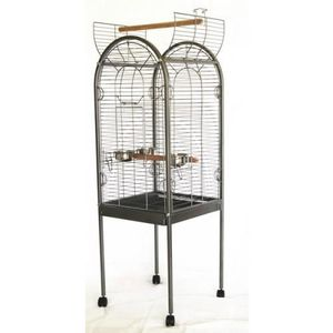 VOLIÈRE - CAGE OISEAU Volière cage à oiseaux canaries perruches perroque