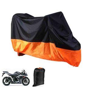 BÂCHE DE PROTECTION XL Housse Couvre-Moto Bâche Goudronnée Pour Moto P