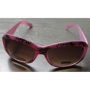 c58eb8aa722194 LUNETTES DE SOLEIL lunette de soleil femme arrondi leopard rose pin u